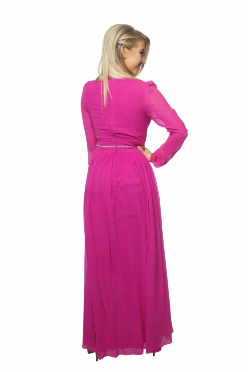 Betty Tran Gown in Pink
