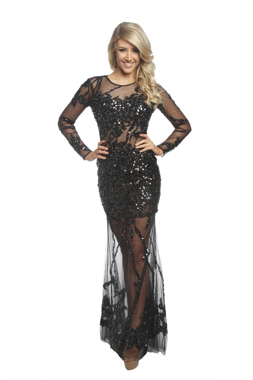 Jovani Gown in Black