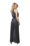 Swish Slate Gown