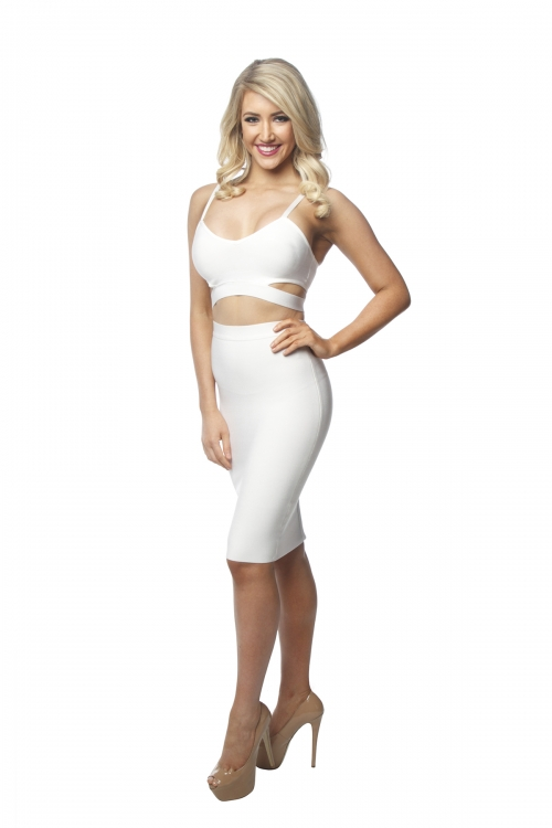 Misha Two Piece Bandage Midi Set