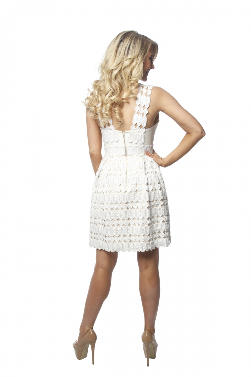 Alex Perry Beaded Lace Dress