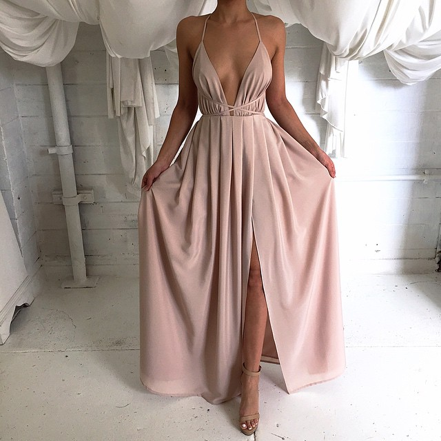 Natalie Rolt - Blossom Nude gown