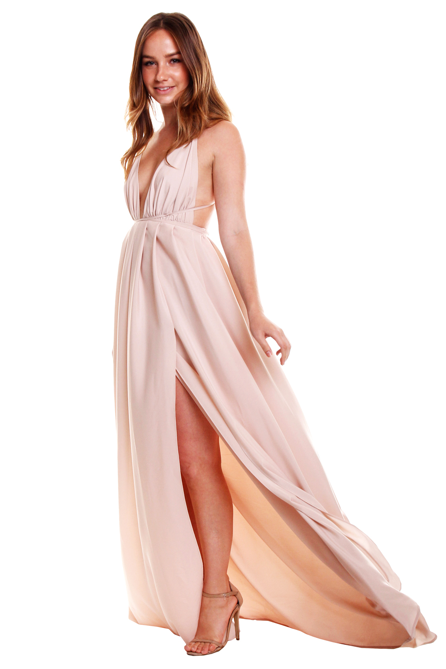 Natalie Rolt | Blossom Rust Gown