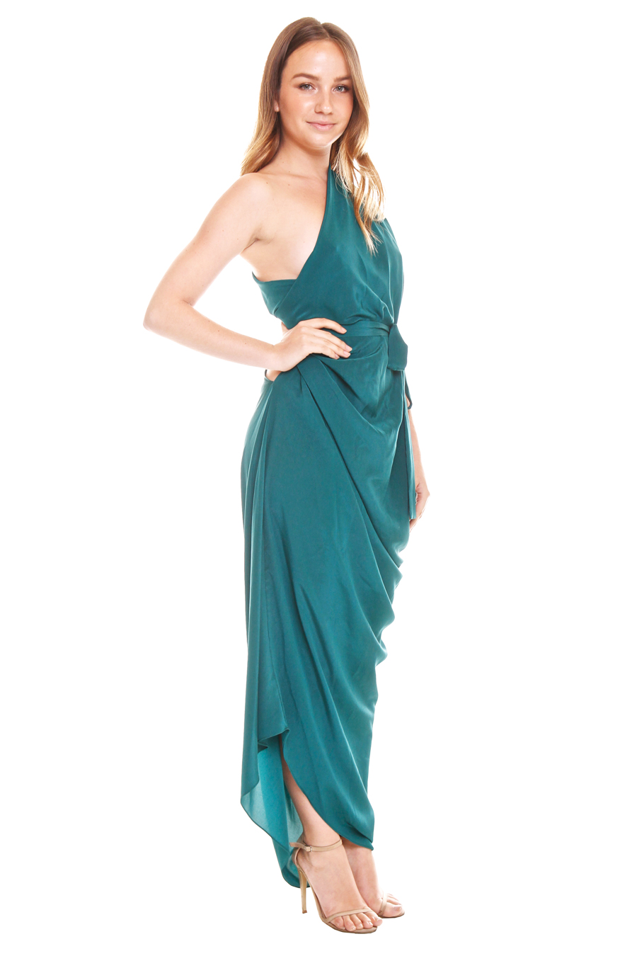 One Fell Swoop – Emerald - Perth Dress Hire - My Sisters Boudoir