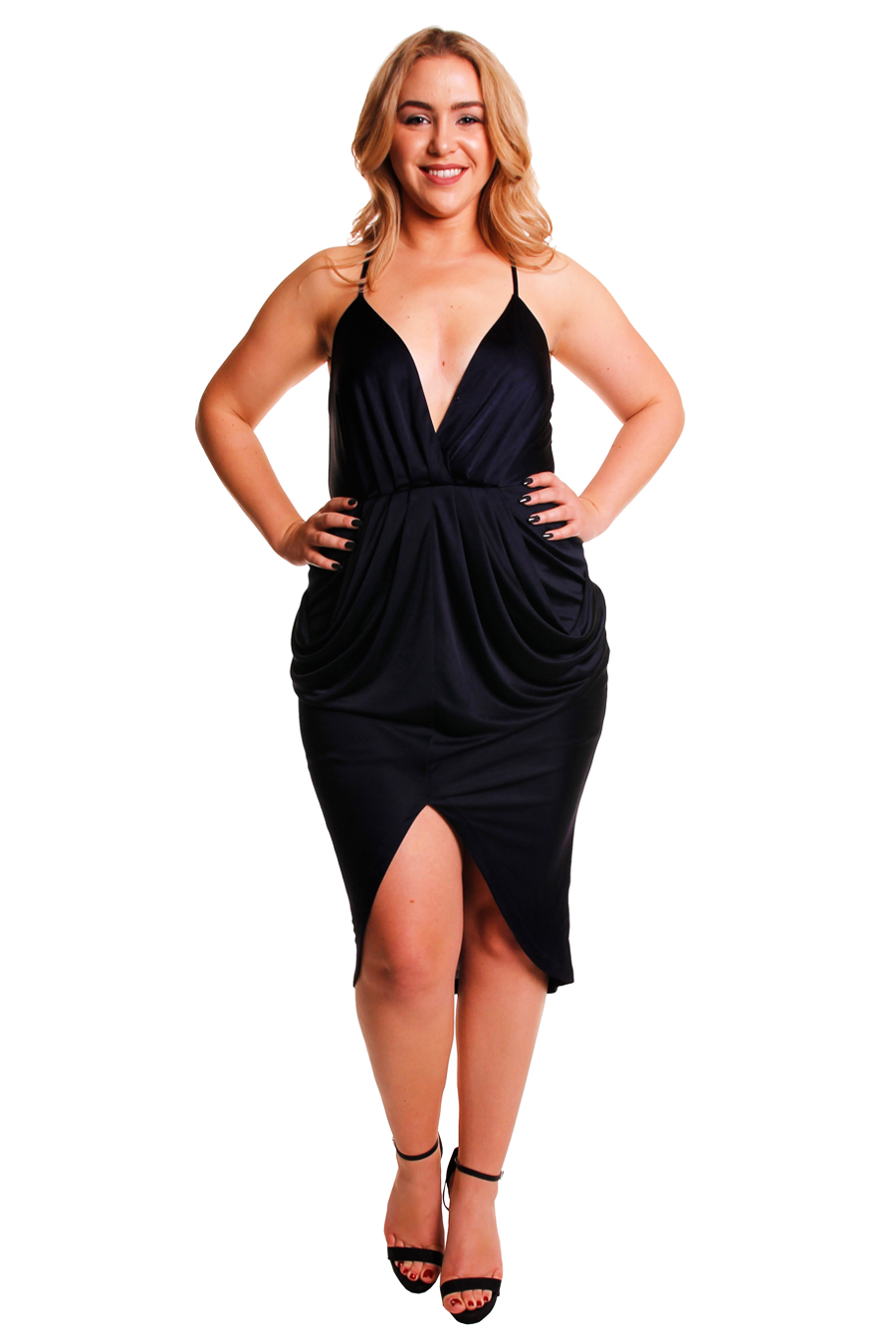 0734225c047 Sheike Navy Cocktail W T-back - Perth Dress Hire - My Sisters Boudoir